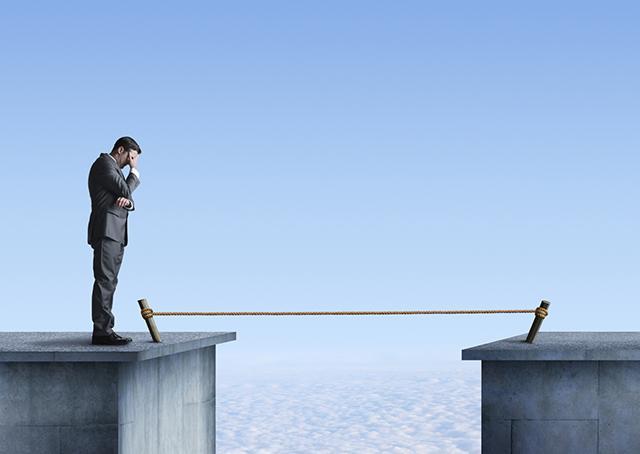 """importância de correr riscos """"calculados""""..."""