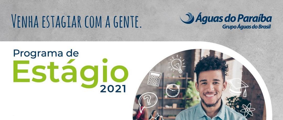 Programa de Estágio 2021 - Águas do Paraíba