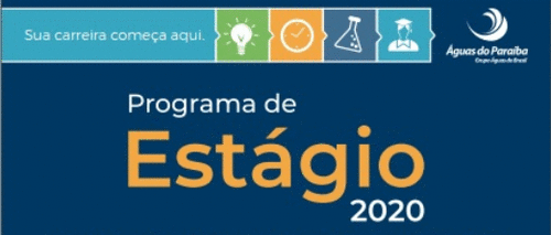 Programa de Estágio ÁGUAS DO PARAÍBA 2020