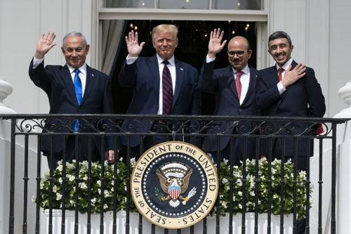 A nova relação de Israel no oriente médio como evidência do imortal  Realismo político.