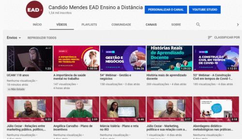 UCAMFLIX - NOSSO CANAL DE VÍDEOS